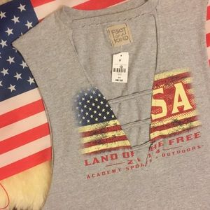 Furst Of A Kind ~ Ladder Front 🇺🇸 USA Tank Top